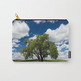 Tree with Grass Blades Carry-All Pouch