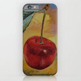 Vintage Cherry iPhone Case