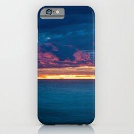 Lake Michigan Sunset iPhone Case