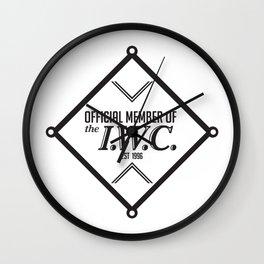 IWC Union Logo Wall Clock