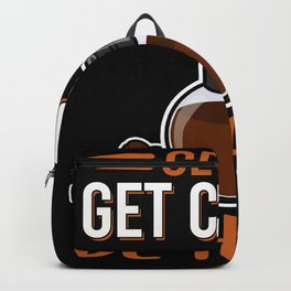 Get Up Get Coffee Be Happy | Coffee Gift Backpack
