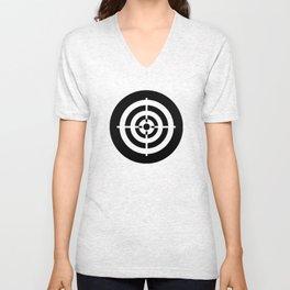 Bullseye Ideology Unisex V-Neck