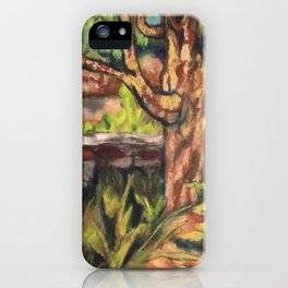 Cherry Willow iPhone Case