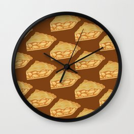 A Piece of Apple Pie Wall Clock
