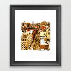 Chinatown View Framed Art Print
