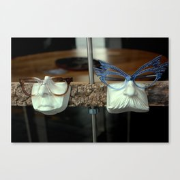 The Brown Nose - Feeling Blue Canvas Print