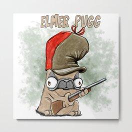 Elmer Pugg Metal Print