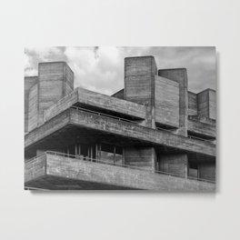 brutalist balcony Metal Print