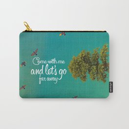 Far away (tree) Carry-All Pouch
