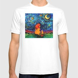 lion king and jr T-shirt