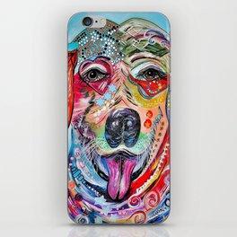 Laughing Labrador iPhone Skin