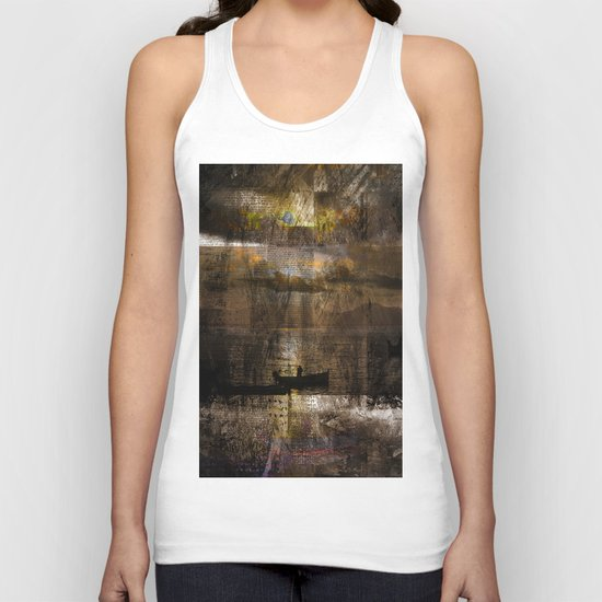 abstract# # # Unisex Tank Top
