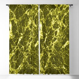 Yellow Marble Blackout Curtain