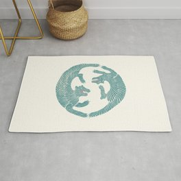 Asiatic Tigers Rug