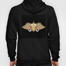Elephant pop art, African Bull Elephant in abstract 3D illustration with white tusks, awesome polygo Hoody