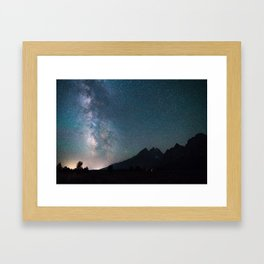Starry Nights Framed Art Print