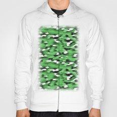 Green Leopard Pattern Hoody