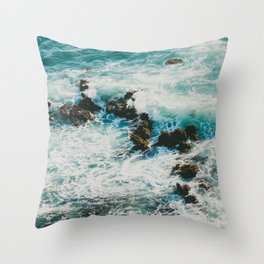 Palos Verdes Surf Throw Pillow