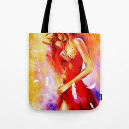 Art of Seduction - Erotic Painting Tote Bag
