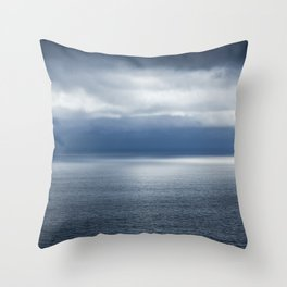 Malibu, Cali Throw Pillow