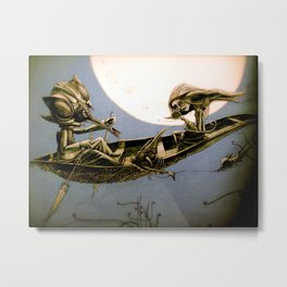 learn to be lonely Metal Print