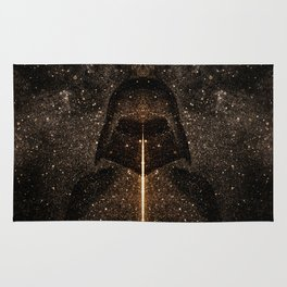 Force of light through the dark side Rug