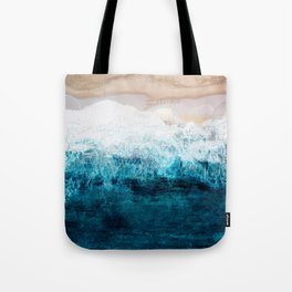 Watercolour Summer beach III Tote Bag