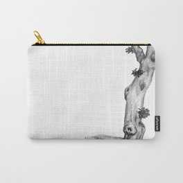 Gnarly Oak Tree Carry-All Pouch