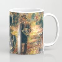 the godfather Mugs featuring The Godfather. Part Two by Miquel Cazanya