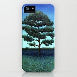 Nocturnal Southern Pine iPhone Case
