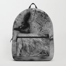 Face Of Thought Backpack
