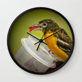 Mouth Full Wall Clock