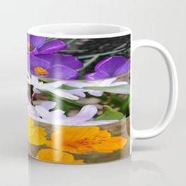 Spring Floral Collage Coffee Mug