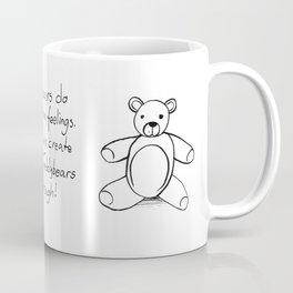 Teddybears are tough Coffee Mug