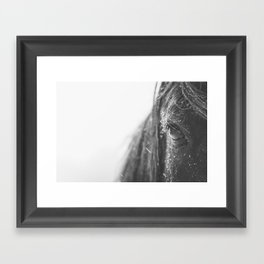 Eye of the Storm II Framed Art Print