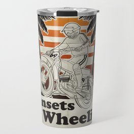 Sunsets & Wheelies Travel Mug