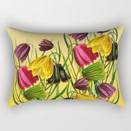 Fritillaria Flowers Rectangular Pillow
