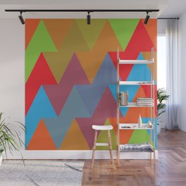 Triangles #2 Wall Mural