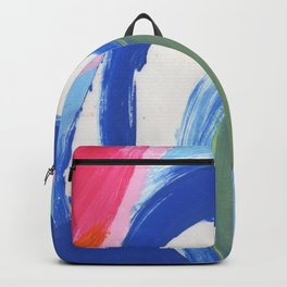 Abstract Lotus Backpack