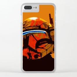 republic commando Clear iPhone Case