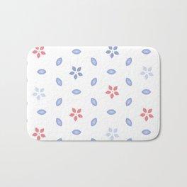 Pastel color Multi pattern design Bath Mat