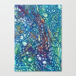 Abstract cells Canvas Print