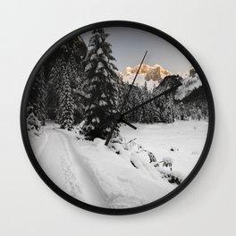Gosau Winterwonderland Wall Clock