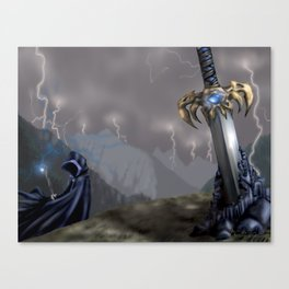 Rising Prophecy Canvas Print
