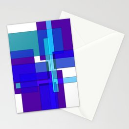 Squares combined no. 2 Stationery Cards