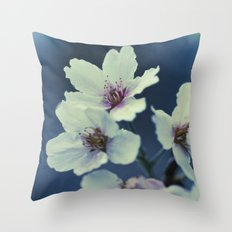 Blossoming - Beautiful Spring Blooms Throw Pillow