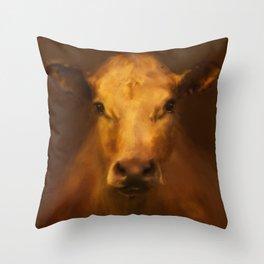 Cow 20 Throw Pillow