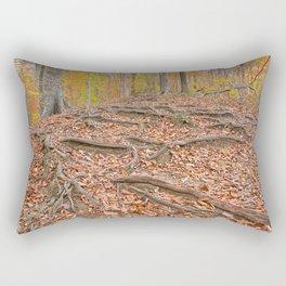 Autumn Avalon Forest Trail Rectangular Pillow