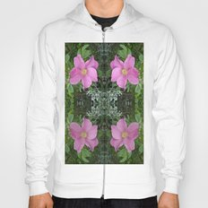 Dog Rose reflect four Hoody