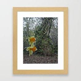 Hidden Hollow Framed Art Print